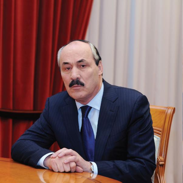 Глава РД  Рамазан Абдулатипов.
