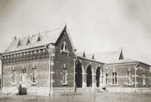 Железнодорожная больница на станции Дербент, н. ХХ в.