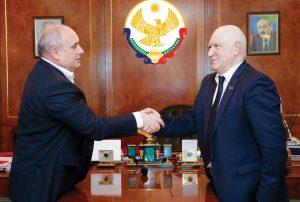 Мэр Махачкалы и ректор ДГТУ договорились о сотрудничестве