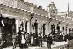 Петровск.  Здание железнодорожного вокзала, н. ХХ в.