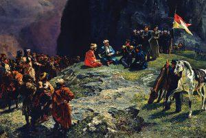 Встреча Шамиля с Клюки-фон-Клюгенау