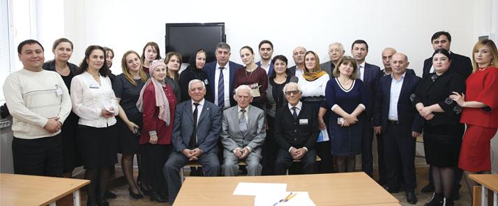 Встреча с коллективом исторического факультета ДГПУ