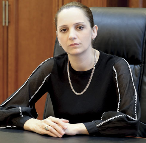 Магомедова Марина Гаджиевна,  и. о. ректора, кандидат педагогических наук